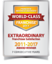 Franchise Research Institute World Class Franchise 2017 - Extraordinary Franchisee Satisfaction